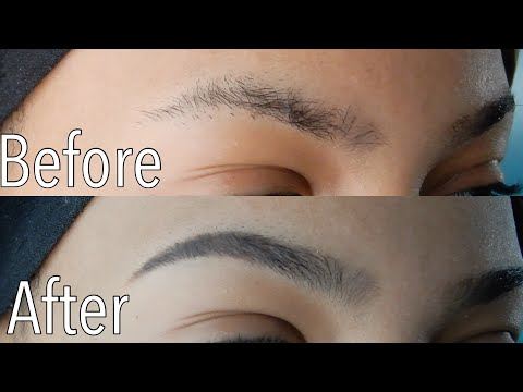 How I Groom My Brows At Home
