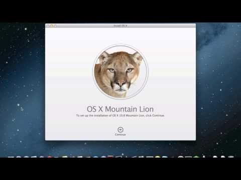Making an OS X Mountain Lion bootable Drive or DVD