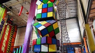 This Jersey rock climbing gym lets you scale walls like Spider-Man.