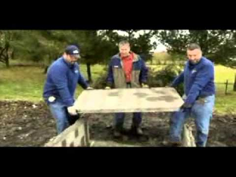 Stone Age Outdoor Fireplace Detailed Assembly