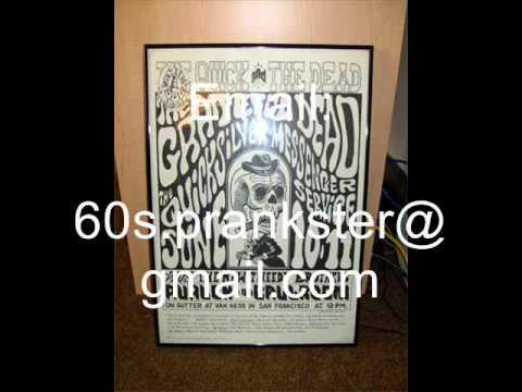 Grateful Dead Concert Poster for Sale