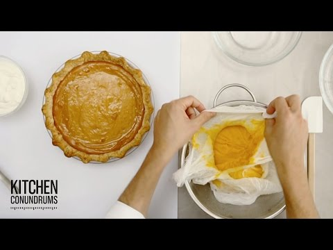 DIY Canned Pumpkin Puree - Kitchen Conundrums with Thomas Joseph