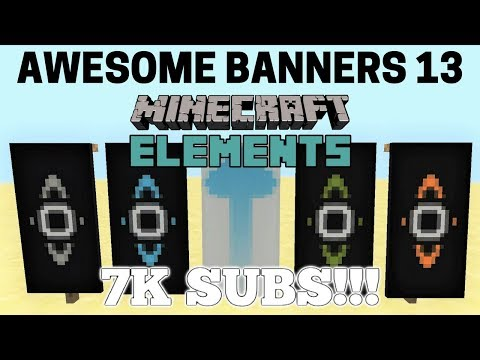 ✔ 5 AWESOME MINECRAFT BANNER DESIGNS WITH TUTORIAL! #13