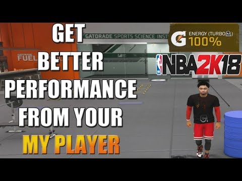 NBA 2K18 - How To Get Better Performance From Your My Player