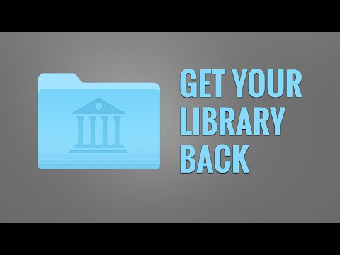 How to Get Your Library Folder Back on Your Mac (2016)