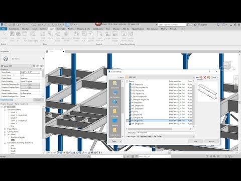 Revit - Structural Steel Framing