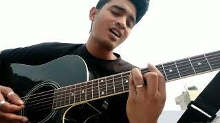Baarishein - Atif Aslam | Cover | Guitar Cover | Arko feat. Atif | Unplugged | By Poppi