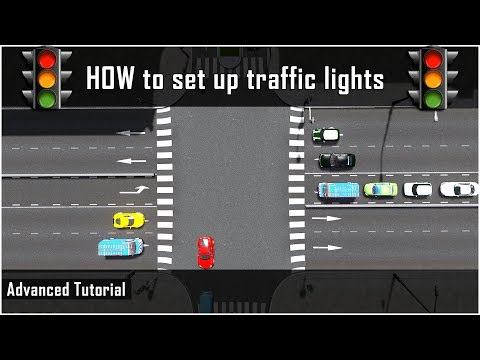 How to set up Manual Traffic Lights - Cities Skylines: Advanced Tutorial