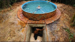 Build Swimming Pool On Underground Cool House