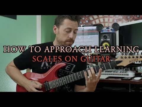 How to Approach Learning Scales on the Guitar