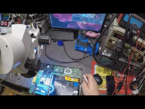 How to repair short to ground laptop motherboards, dell vostro 130
