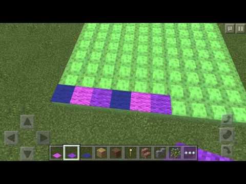 Build a Bouncy Castle on Minecraft