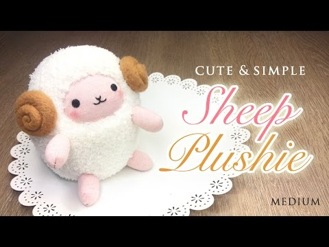 DIY Perfect Sheep Plush Tutorial - Budget Crafting with Amazing Results!