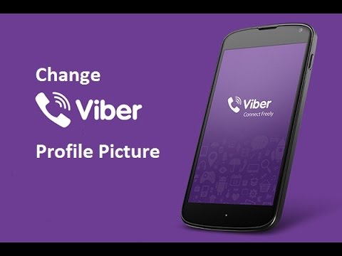 How to Change Viber Profile Picture on your Phone - 2014