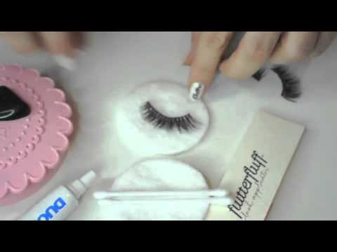 How to Clean Your Mink Flutterfluff Lashes