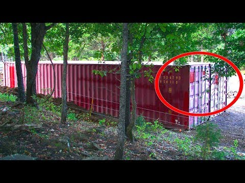 A guy had a regular shipping container…THE THING HE MADE OUT OF IT SURPRISED EVERYONE!