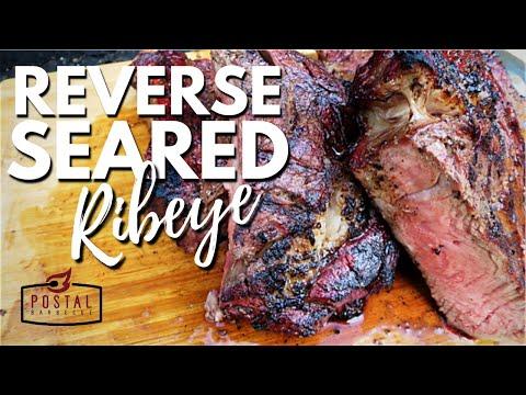 Reverse Sear Ribeye Steak - How to Reverse Sear a Steak on the grill