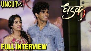Janhvi Kapoor Ishaan Khattar Most CANDID Interview | UNCUT | Dhadak Promotions | FULL INTERVIEW