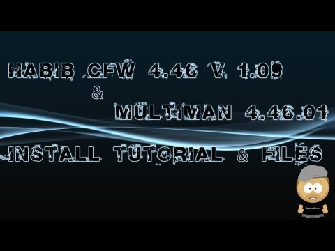 Install Tutorial HABIB CFW 4.46 V 1.13 + Files + Multiman 4.46.01