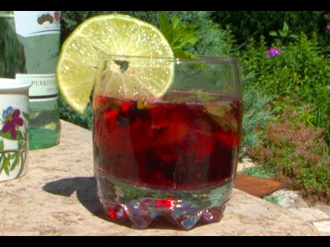 How To Make A Blackberry Mojito Drink