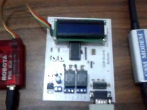 GSM Modem   SMS Control