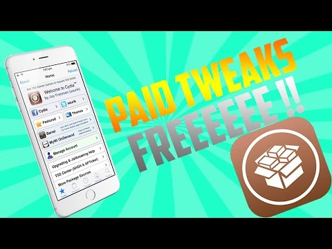 Get Paid Cydia Tweaks Free FROM MAIN REPOS on iOS 8 - 8.4 (Install Paid Cydia Themes/Apps Free)