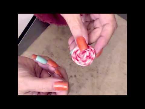 DIY Twine Lollipops