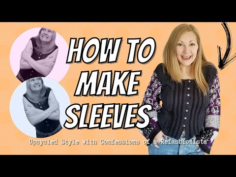 Spendid Sleeves: how to add sleeves to any shirt (a refashioning diy)