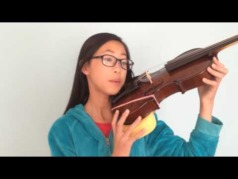 How to balance your violin - Laura learns violin#3