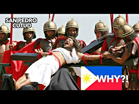 What FOREIGNERS think of CRUCIFIXION in the PHILIPPINES?!! Holy Week 2018
