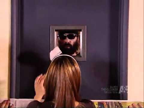 Criss Angel Walks Through Metal Door 2