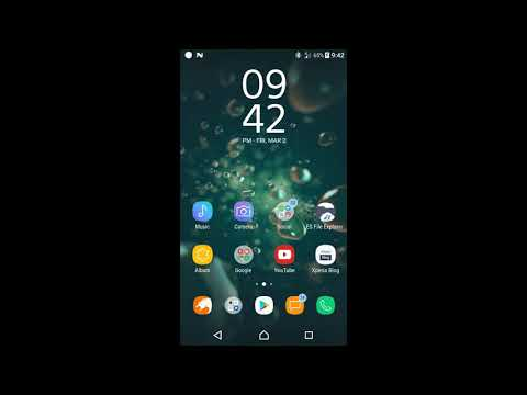 New Sony Xperia XZ2 Themes for other Xperia Devices (Android 7.1.1 and 8.0)