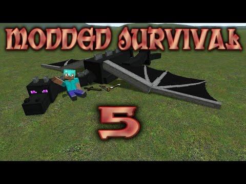 {0.9.5}  Minecraft Pe -Modded Survival #5 Mining Those Diamonds