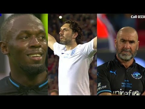 England XI vs World XI - Soccer Aid 2018 Highlights