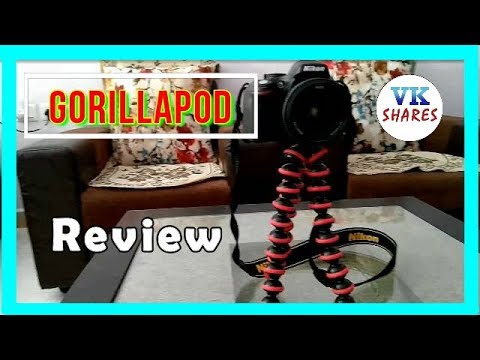 Gorillapod (Flexible Tripod)  Review