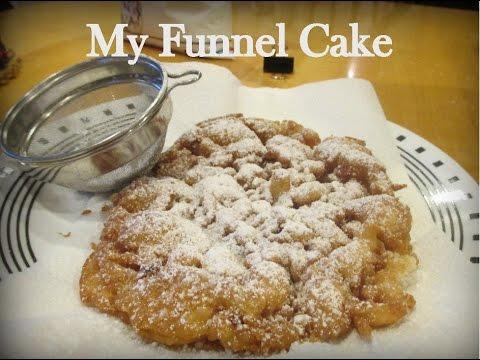 Funnel Cake Using Pancake Mix?