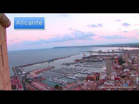 Alicante Stad - semesterhuvudstad på spanska östkusten
