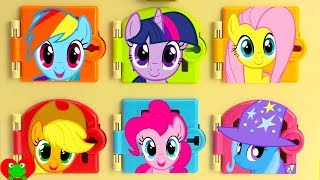 My Little Pony Trapped Learn Colors and Matching