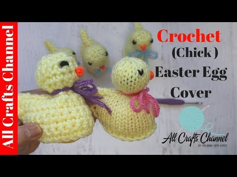 How to crochet  Easter Egg Cover,   Fun and Easy Crochet