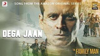 Dega Jaan | The Family Man | Sachin-Jigar | Mellow D ft Shreya Ghoshal | Amazon Original