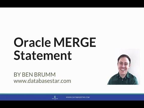 Oracle SQL MERGE Statement