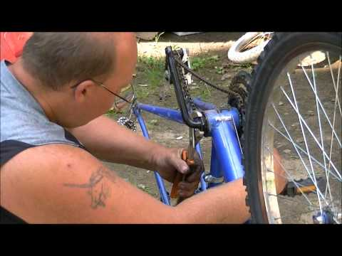 how to change crank bearings on a bicycle