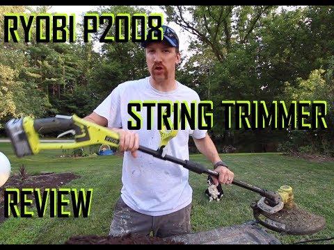 RYOBI 18V ONE+ STRING TRIMMER/EDGER FULL REVIEW