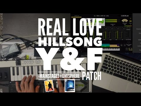 Real Love - Young and Free Mainstage + Omnisphere patch