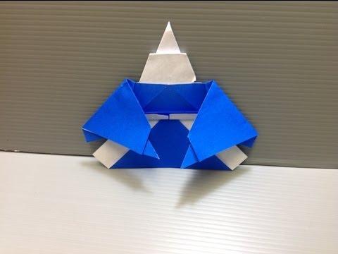 Daily Origami: 124 - Japanese Man