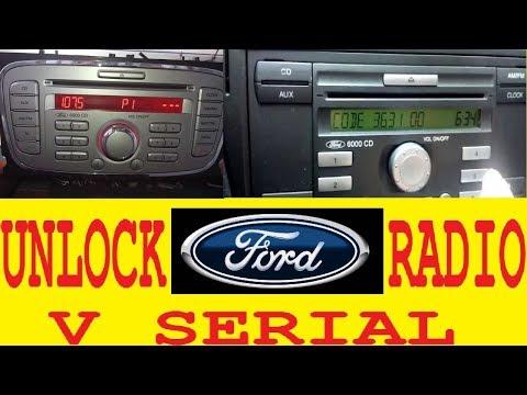 Ford radio locked 13,15,reset locked enter code.Unlock FORD V decode