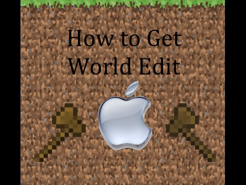 How To Get World Edit For Minecraft 1.8.9 Mac