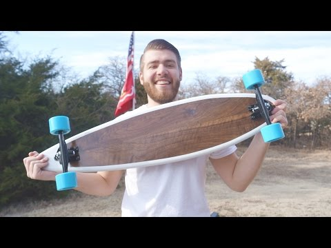 How To Build a Longboard | With Template | Modern Builds | EP. 20