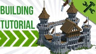 Minecraft How To Build A Medieval Castle Build Tutorial