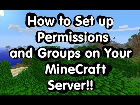 How to Create, Add Permission, and Add Prefix to a Essentials Group Manager Rank